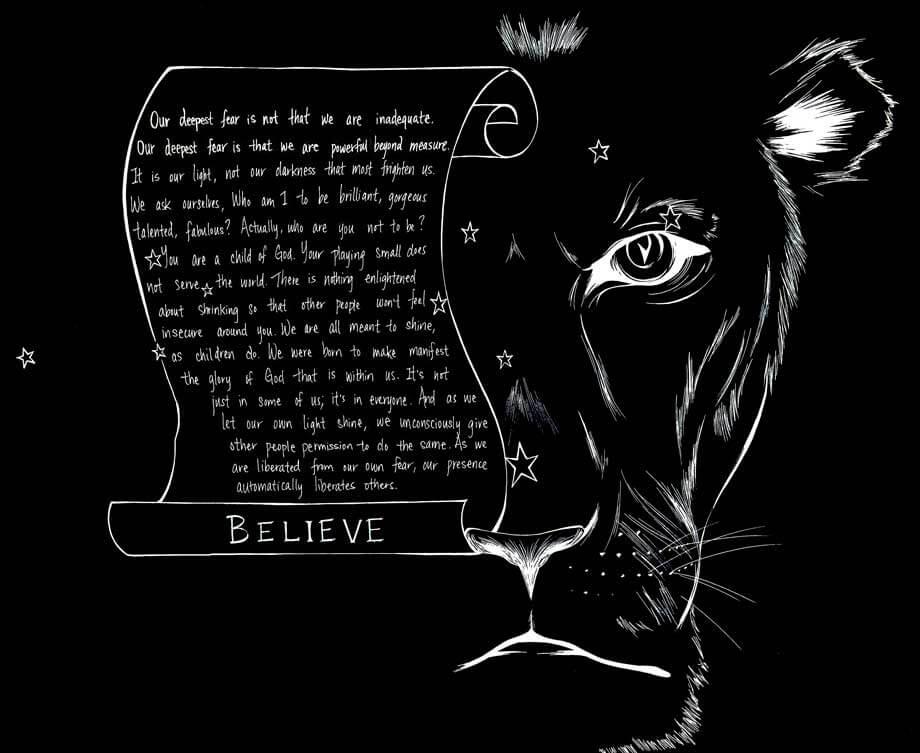 Clickly Marketing Graphic Design Lion Image